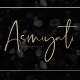 Asmiyati | A Luxury Script Font - GraphicRiver Item for Sale