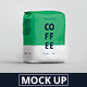 Coffee Paper Bag Mockup Medium Size - GraphicRiver Item for Sale