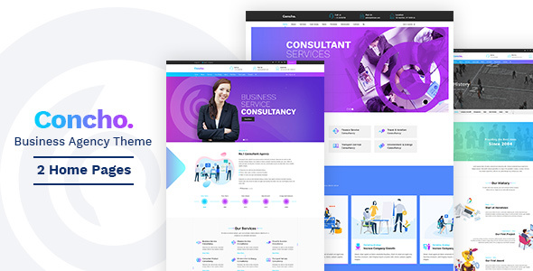 Concho - Consulting Theme