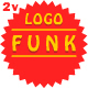 Fashion Lounge Background Funk Logo