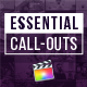 Essential Call-Outs Library | Final Cut - VideoHive Item for Sale