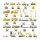 Set Vector Machinery Asphalt Machine - GraphicRiver Item for Sale