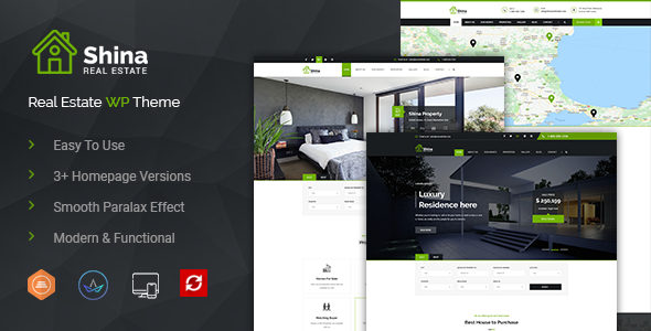 Shina - Real State Property WordPress Theme