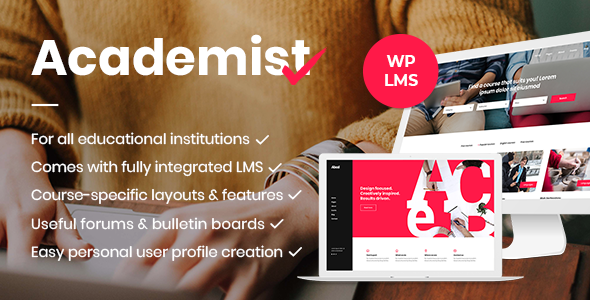 Academist - Education & Learning Management System Theme