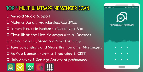 Make A Whatsapp App With Mobile App Templates from CodeCanyon