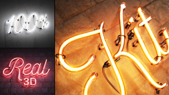 Neon Video Effects & Stock Videos from VideoHive