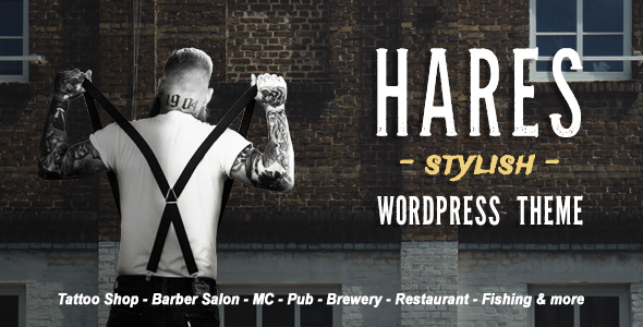 Hares - A Stylish WordPress Theme