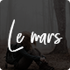 Le Mars - Minimal Personal Blog HTML Template - ThemeForest Item for Sale