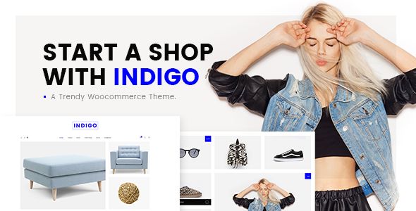 Indigo - Simple WooCommerce Shop