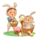 Little Girl or Boys Hunting Decorative Chocolate - GraphicRiver Item for Sale