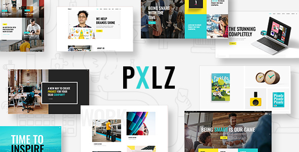 Pxlz - Creative Design Agency Theme