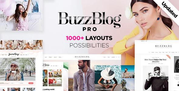 Buzz - Lifestyle Blog & Magazine WordPress Theme - Wordpress Themes & Templates - Hire Wordpress Freelancers from FreelancerCV.com