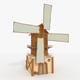 WindMill LowPoly - 3DOcean Item for Sale