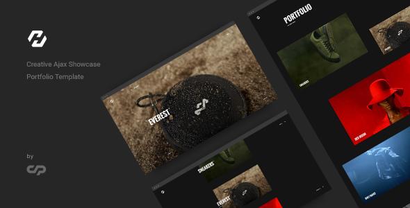Hervin - Creative Ajax Portfolio Showcase Slider Template