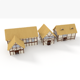 Thatched Roof House - 3DOcean Item for Sale