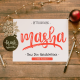 Masha // Duo Handlettered Fonts - GraphicRiver Item for Sale