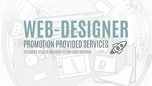 Web Designer Promo