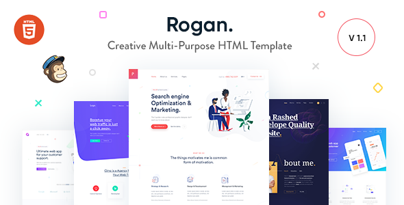 eaad340f59681 HTML Website Templates from ThemeForest