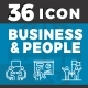 Elegant 36 Business & People Icon - GraphicRiver Item for Sale