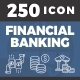 250 Financial Banking - GraphicRiver Item for Sale