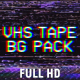 VHS Tape Noise Background Pack - VideoHive Item for Sale