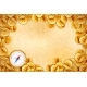 Pirate Gold Coins on Old Ancient Textured Empty - GraphicRiver Item for Sale