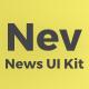 Nev - News Sketch UI Kit - ThemeForest Item for Sale