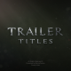 Blockbuster Trailer Titles - VideoHive Item for Sale