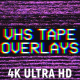 VHS Tape Noise Overlay Pack 4K - VideoHive Item for Sale