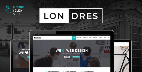 Londres - Stylish Multi-Concept WordPress Theme