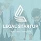 Legal Startup Pitch Deck Keynote Template - GraphicRiver Item for Sale