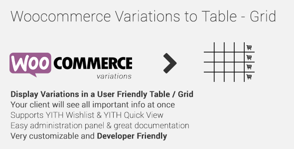 Codecanyon | Woocommerce Variations to Table - Grid Free Download #1 free download Codecanyon | Woocommerce Variations to Table - Grid Free Download #1 nulled Codecanyon | Woocommerce Variations to Table - Grid Free Download #1