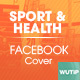 10 Facebook Cover - Sport and Health - GraphicRiver Item for Sale