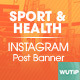 10 Instagram Post - Sport and Health - GraphicRiver Item for Sale