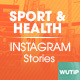 10 Instagram Stories - Sport and Health - GraphicRiver Item for Sale