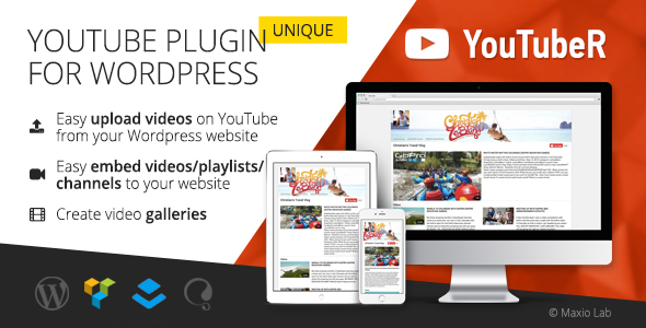 YouTubeR - Unique YouTube Video Feed & Gallery Plugin Download