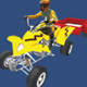 Low Poly Quad Bike With Trailer & Rider - 4 - 3DOcean Item for Sale