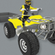 Low Poly Quad Bike With Trailer & Rider - 5 - 3DOcean Item for Sale