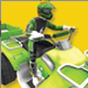 Low Poly Quad Bike With Trailer & Rider - 6 - 3DOcean Item for Sale