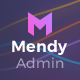Mendy Admin Template - Dashboard + UI Kit Framework with Frontend Templates (Bootstrap 4) - ThemeForest Item for Sale