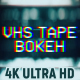 VHS Tape Noise Bokeh Pack 4K - VideoHive Item for Sale