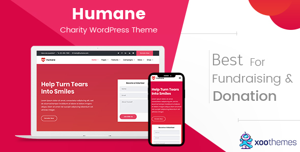 Humane – Charity WordPress Theme