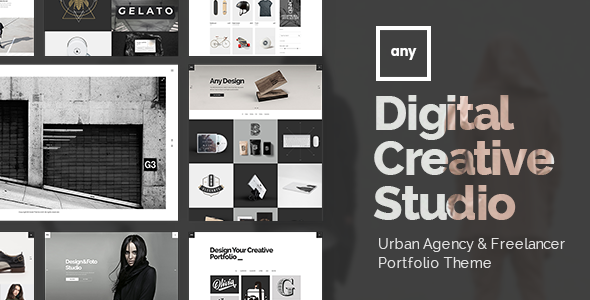 Any - Freelancer Portfolio Theme