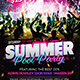 Summer Pool Party Flyer - GraphicRiver Item for Sale