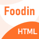 Foodin - Restaurant & Cafe Responsive HTML Template - ThemeForest Item for Sale