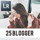 25 Blogger Presets - GraphicRiver Item for Sale