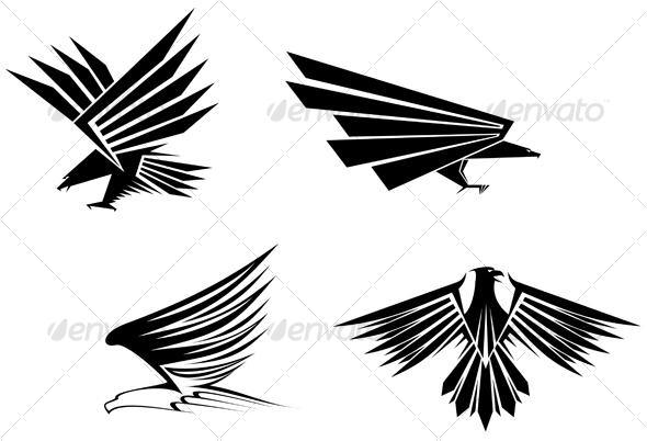 Eagle symbols for design