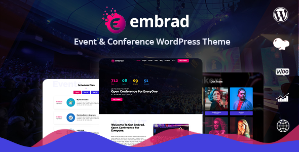 Embrad - Event & Conference WordPress Theme