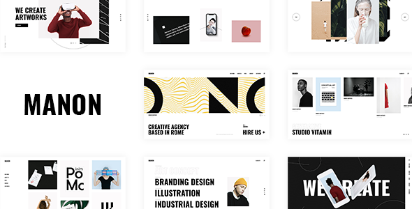 Manon - Portfolio & Agency Theme