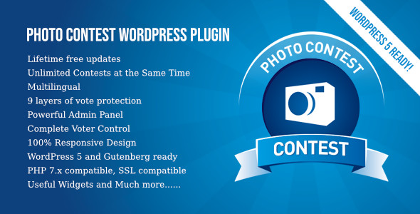 Photo Contest WordPress Plugin 3